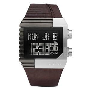 Diesel Digital Black Dial Men's Watch DZ7185