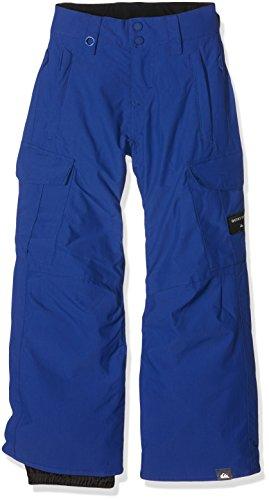 Quiksilver-Pantaloni Porter Sodalite Blue da sci da ragazzo, taglia: 8 anni (taglia del produttore: S/8)