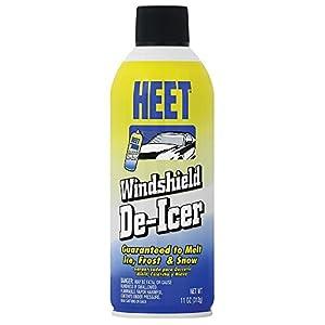 HEET LT14 Windshield De-Icer Spray, 11 av. oz.