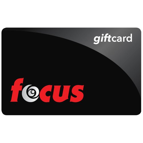 Focus Camera Gift Card