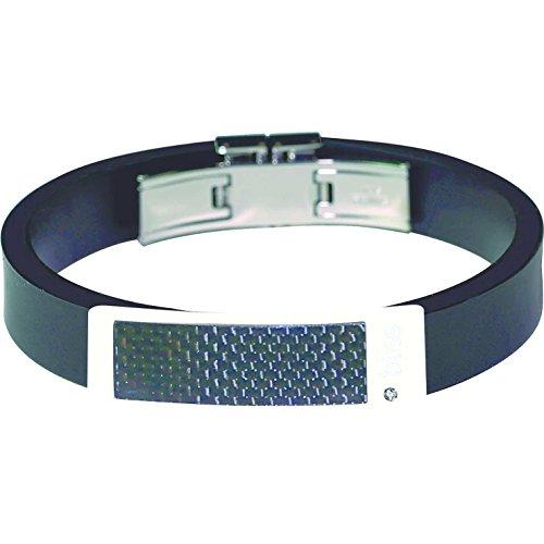 bracciale uomo gioielli Bliss Karbonio classico cod. 20004545