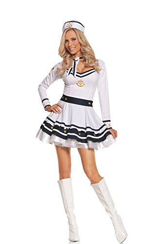 Sexy Women's Achors Away Sailor Adult Roleplay Costume