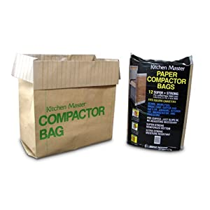 Graphic Packaging Paper Kitchen Master Compactor Bag (12 Pack)