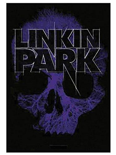 Linkin Park Poster Bandiera blue Skull