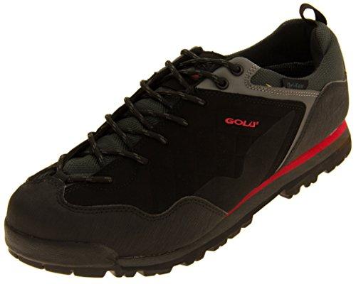 Mens Gola Black Hiker Boots 10 D(M) US