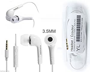 Branded Samsung Earphone with mic and call receiver for MICROMAX A114 CANVAS 2.2 PHONES