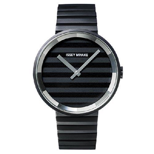 Issey Miyake Please Black IP Stainless Steel Watch SILAAA06