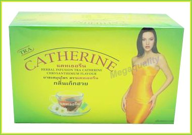 32 Bags Chrysanthemum Catherine Infusion Weight Loss Slimming Herbal Tea Detox Best Product From Thailand