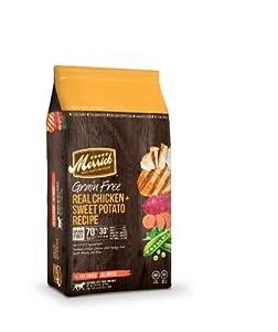 Merrick Grain Free 12-Pound Real Chicken and Sweet Potato Dog Food, 1 Bag