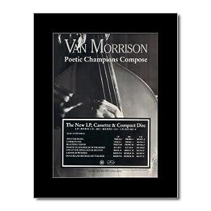 VAN MORRISON - Poetic Champions Compose Matted Mini Poster - 28.5x21cm