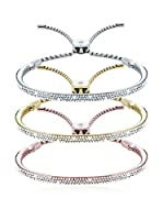 Diamond Style Set de pulseras  Transparente