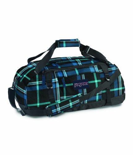 jansport-duffel-pack-black-blue-streak-perry-plaid-20-inch