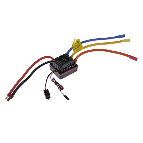 Riorand 60A Sensorless Brushless Speed Controller Esc For 1/10 Rc On-Road / Off-Road Car