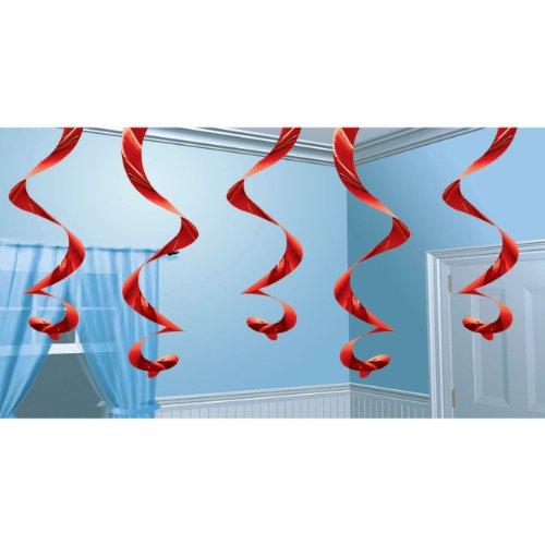 Streamin Swirls Red (5 ct)