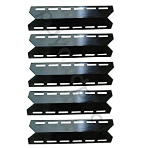 Payandpack 17 516 X 4 1516 Mbp 93041 5-pack Bbq Barbeque Barbecue Replacement Gas Grill Porcelain Steel Heat Plate Shield Tent Diffuser Deflector For Mcm Charmglow Costco Kirkland Grand Isle Nexgrill Perfect Flame Permasteel Sams Club Lowes Model Grills f
