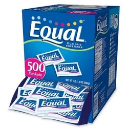 Equal Sugar Substitute Equal 500-Count Packets