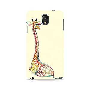 Mobicture Cartoon Premium Designer Mobile Back Case Cover For Samsung Note 3 N9006