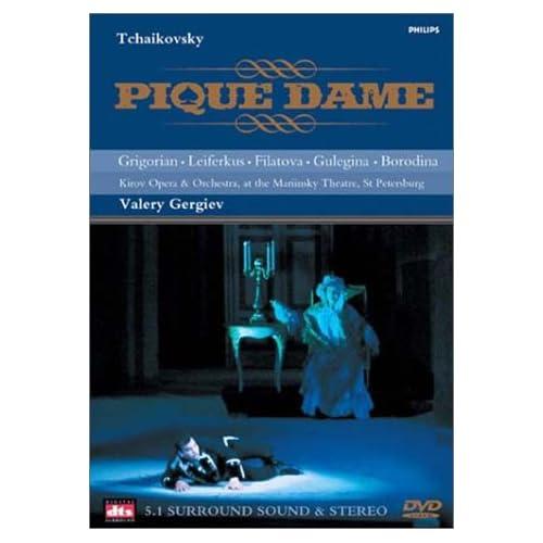 Tchaikovsky   Pique Dame Gergiev, Grigorian Leiferkus DVD5 Sub Eng Deu Fra Esp Ita Cover Opera preview 0
