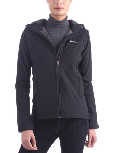 Columbia Phurtec Softshell Women's Jacket - Black, Large
