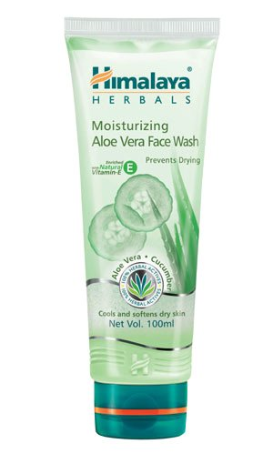 himalaya-herbals-moisturizing-aloe-vera-face-wash-100ml-from-india