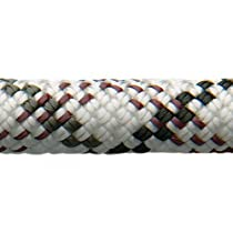 New England Ropes Equinox 10.2mm Dynamic Climbing Rope - 60m Std-Dry - Black/White/Purple