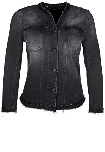 7-for-all-mankind-giacca-piumino-basic-maniche-lunghe-donna-black-sequins-m
