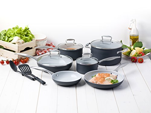 GreenLife Classic Gourmet Pro 12pc Ceramic Non-Stick Cookware Set