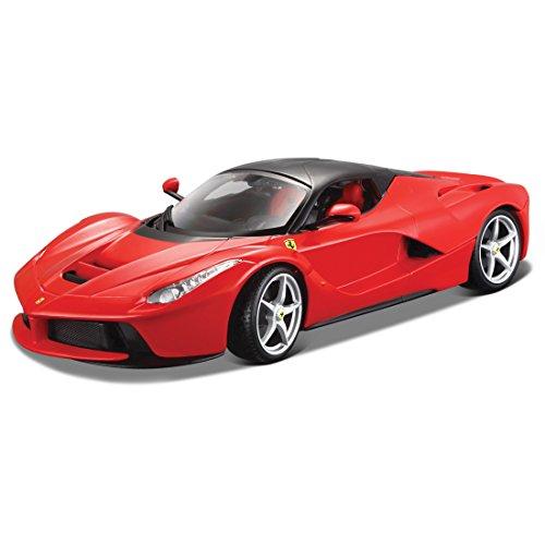 Bburago-15616001R-La-Ferrari-rot