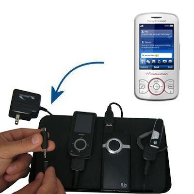 Gomadic Advanced Sony Ericsson Spiro a 4-port Charging Station - Uses TipExchange Technology to charge up to four devices simultaneously