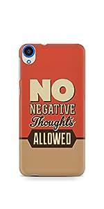Casenation No Negative Thoughts HTC 820 Glossy Case
