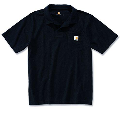 carhartt-trabajo-camiseta-workwear-camiseta-de-contra-extractor-s-work-pocket-polo-negro-xs
