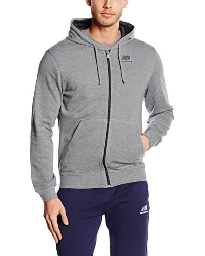 New Balance Sweatjacke grau