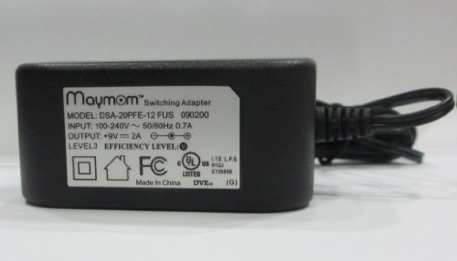 Maymom AC adapter for Medela's Pump In Style Advanced, Traveler, or Companion; Medela Power Transformer Part # 9207010, 9V Model; Safe, Light, Compact & Efficient
