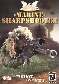 Marine Sharp Shooter Windows Xp Compatible Cd Rom Computer Game