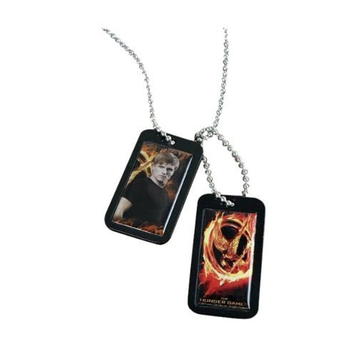 The Hunger Games Movie Epoxy Dog Tags Peeta - 1