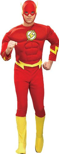 Superhero Flash Muscle Adult Theatre Costumes Large X-Large