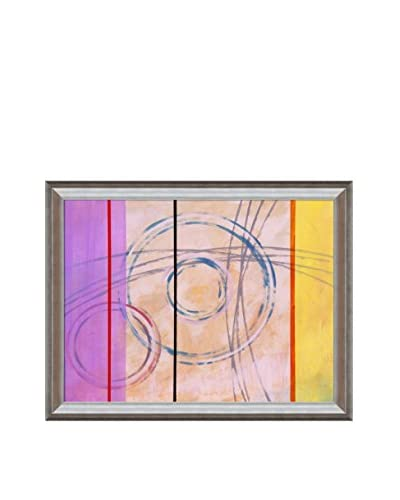 Clive Watts Ringer No 2 Framed Print On Canvas, Multi, 35″ x 45″