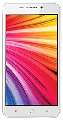 Intex Aqua Star 4G (White-Champagne)