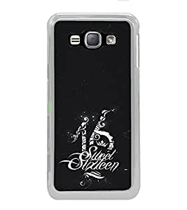 ifasho sweet sixteen quotes Back Case Cover for Samsung Galaxy J1 (2016 Edition)