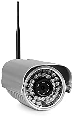 Foscam FI9805W 1.3 Megapixel (1280x960p) H.264 Outdoor Bullet Wireless IP Camera