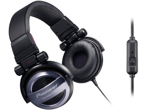 Pioneer Head Band Type Bass Head Headphones For Iphone | Se-Mj551T H Gray (Japanese Import)