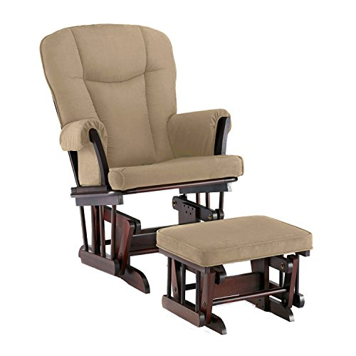 Baby Glider And Ottoman front-118009
