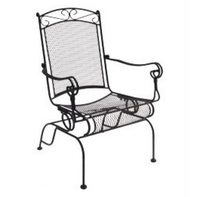 DC America WIS288 Charleston Wrought Iron High Back Rocker - 2 pk picture