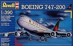 Boeing 747-200 Air Canada 1-380 Plastic Model Kit by Revell Germany