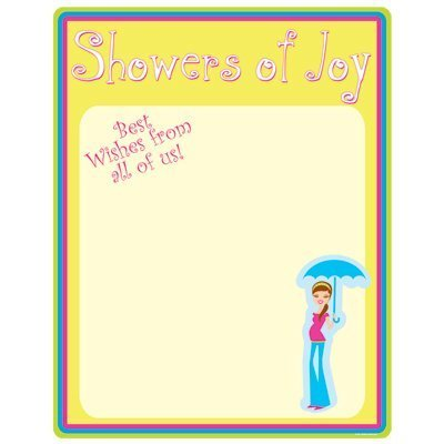 Showers Of Joy Partygraph Party Accessory (1 count)
