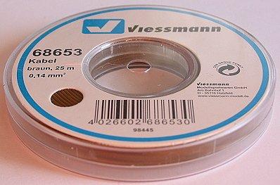 VIESSMANN 68653 Kabelring, Litze, 25m, 0,14 mm²