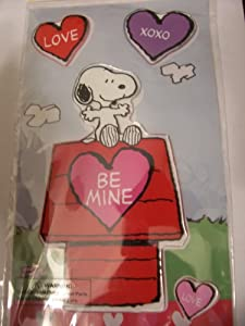 Peanuts Gel Cling Window Cling Snoopy On Doghouse Be Mine Outdoor Background from Product Works