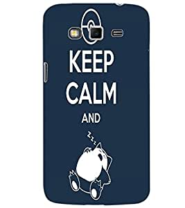 SAMSUNG GALAXY GRAND 2 KEEP CALM Back Cover by PRINTSWAG
