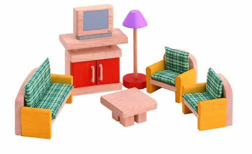 PLAN TOYS Dollhouse Furniture - Neo Living Room