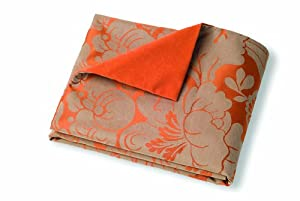 Crypton Super Fabrics Melrose Collection Throver Pet Blanket, Persimmon